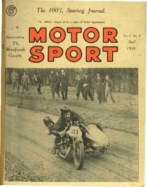 Cover image for April 1928