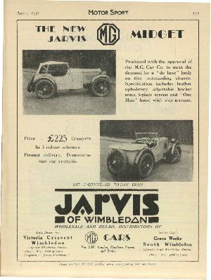Cover of archive issue April 1931