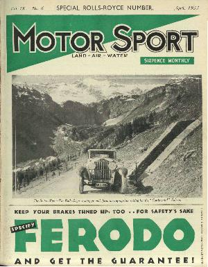 Cover image for April 1933