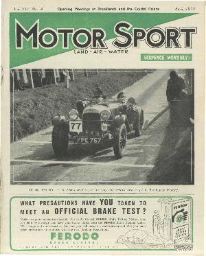 Cover of archive issue April 1938