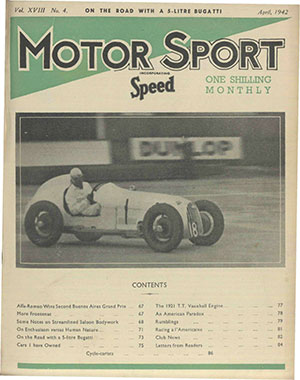 Cover of archive issue April 1942