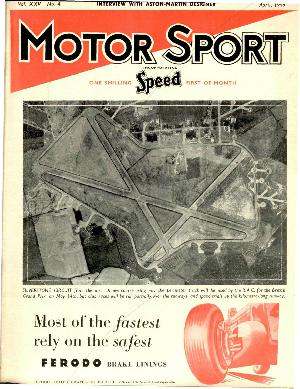 Cover of archive issue April 1949