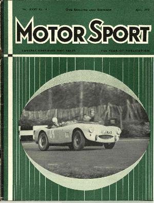 Cover of archive issue April 1959