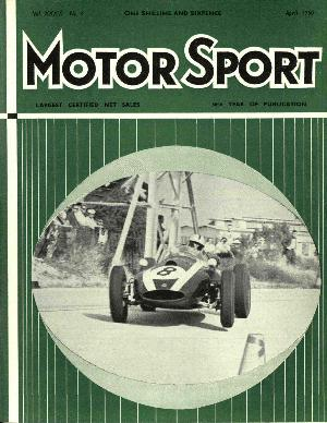 Cover image for April 1960