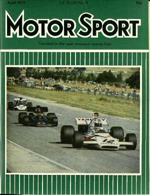 Cover of archive issue April 1972