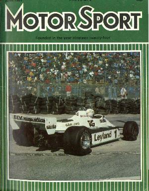 Cover of archive issue April 1981