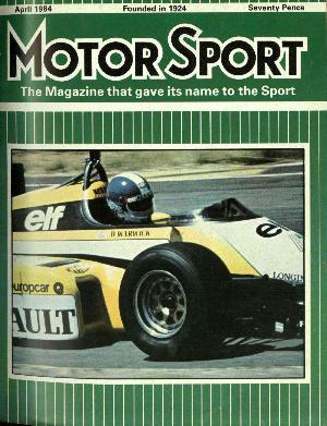 Cover of archive issue April 1984