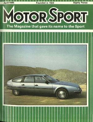 Cover image for April 1985