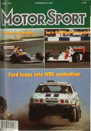 Cover image for April 1992