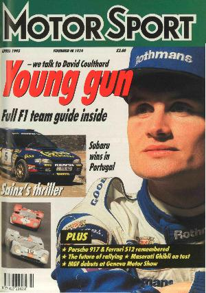 Cover image for April 1995