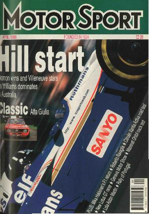 Cover of archive issue April 1996