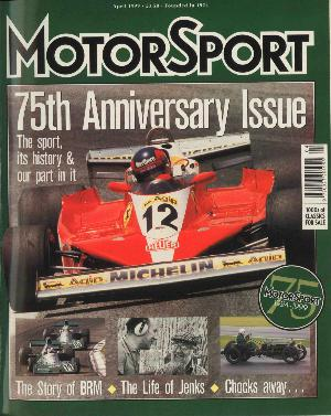 Cover of archive issue April 1999