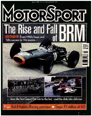 Cover image for April 2001