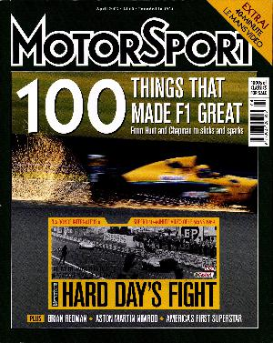 Cover of archive issue April 2003