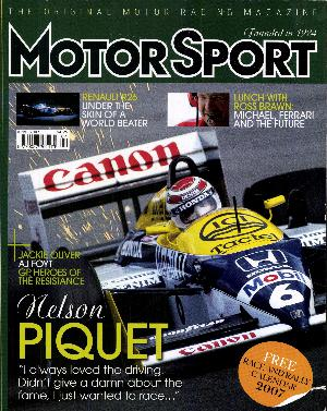 Cover of archive issue April 2007