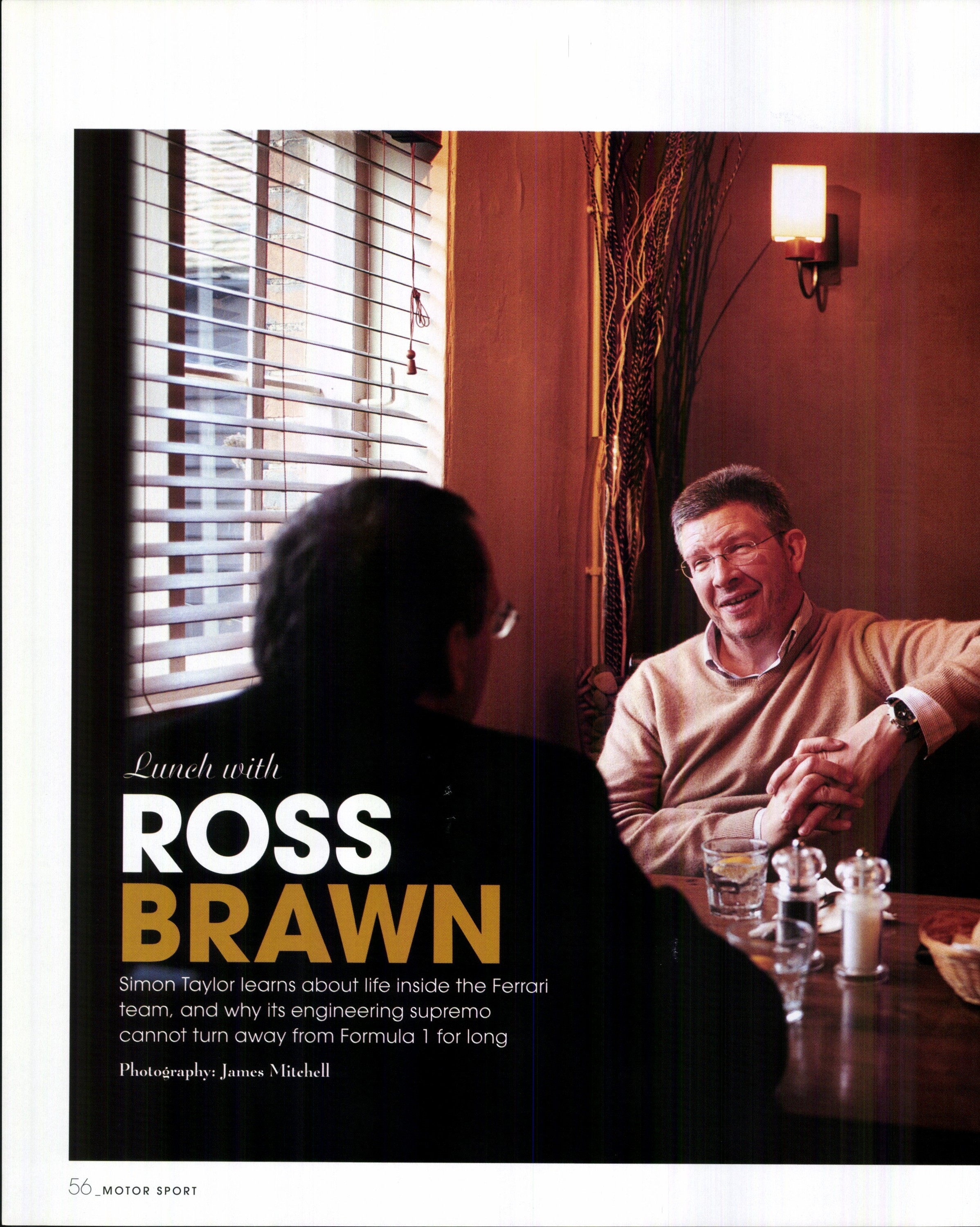 lunch with ross brawn image