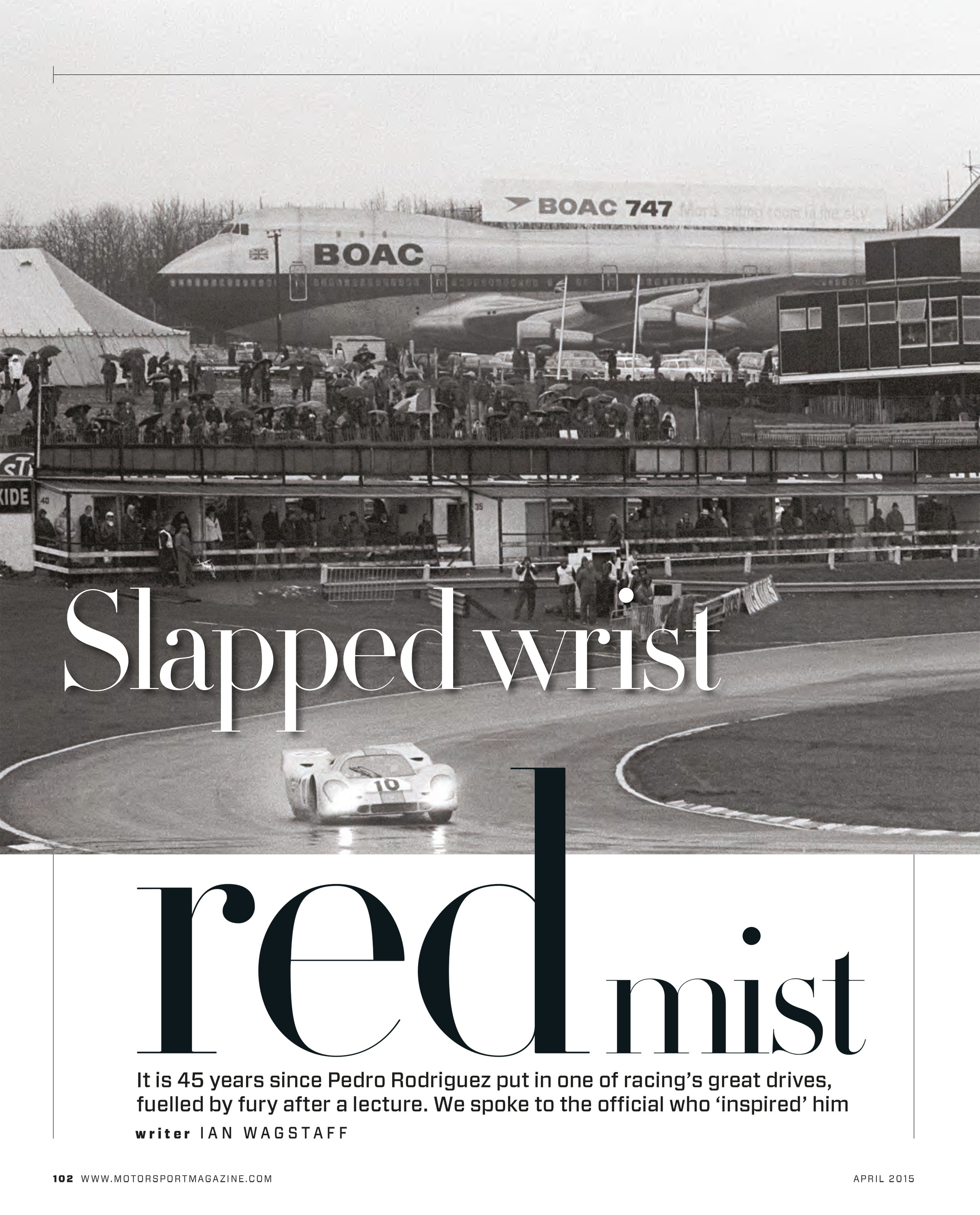 Slapped wrist, red mist image