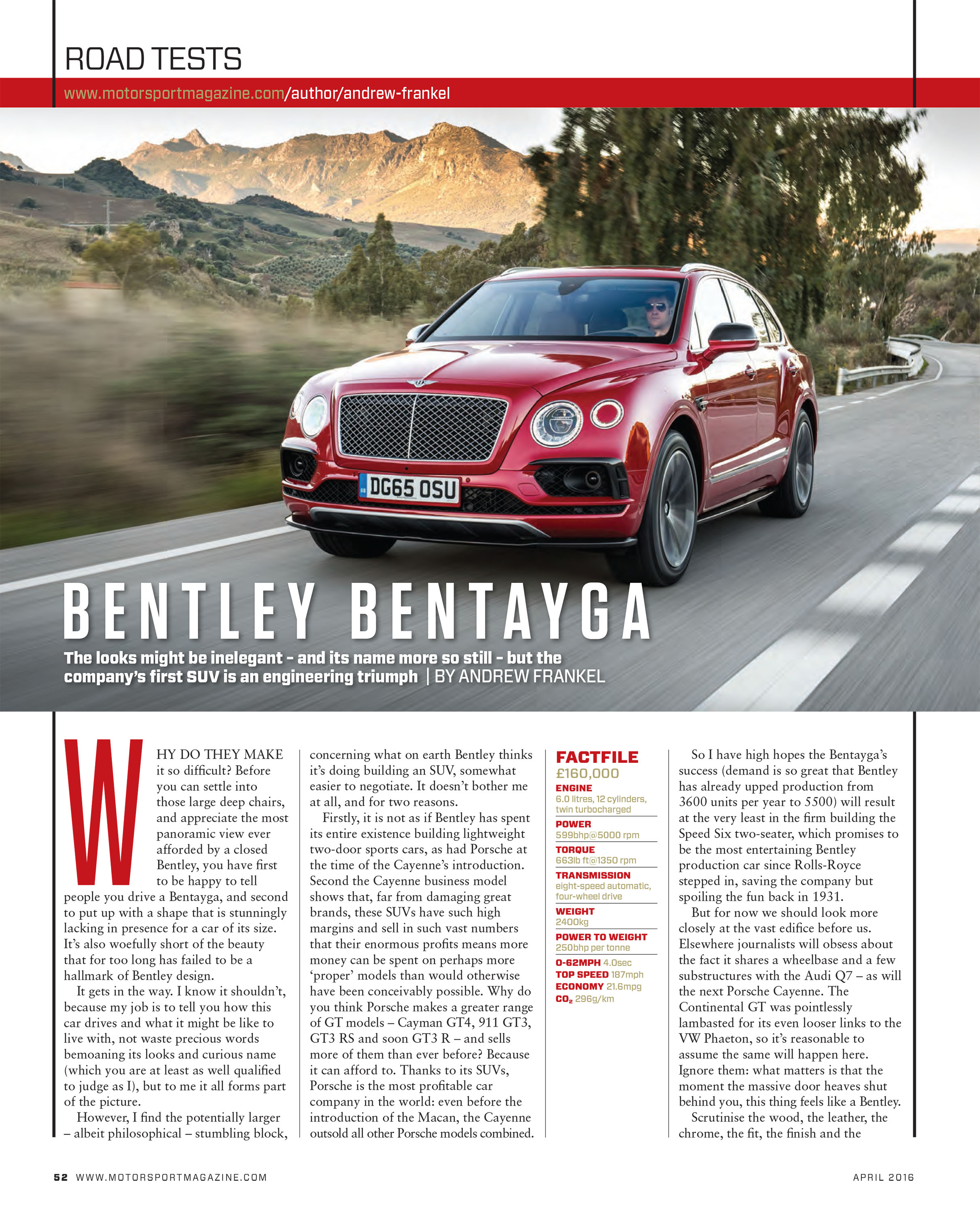 Bentley Bentayga Speed Beats Lamborghini Urus: Bentley Will Aim To Break The SUV Record With Its Maiden