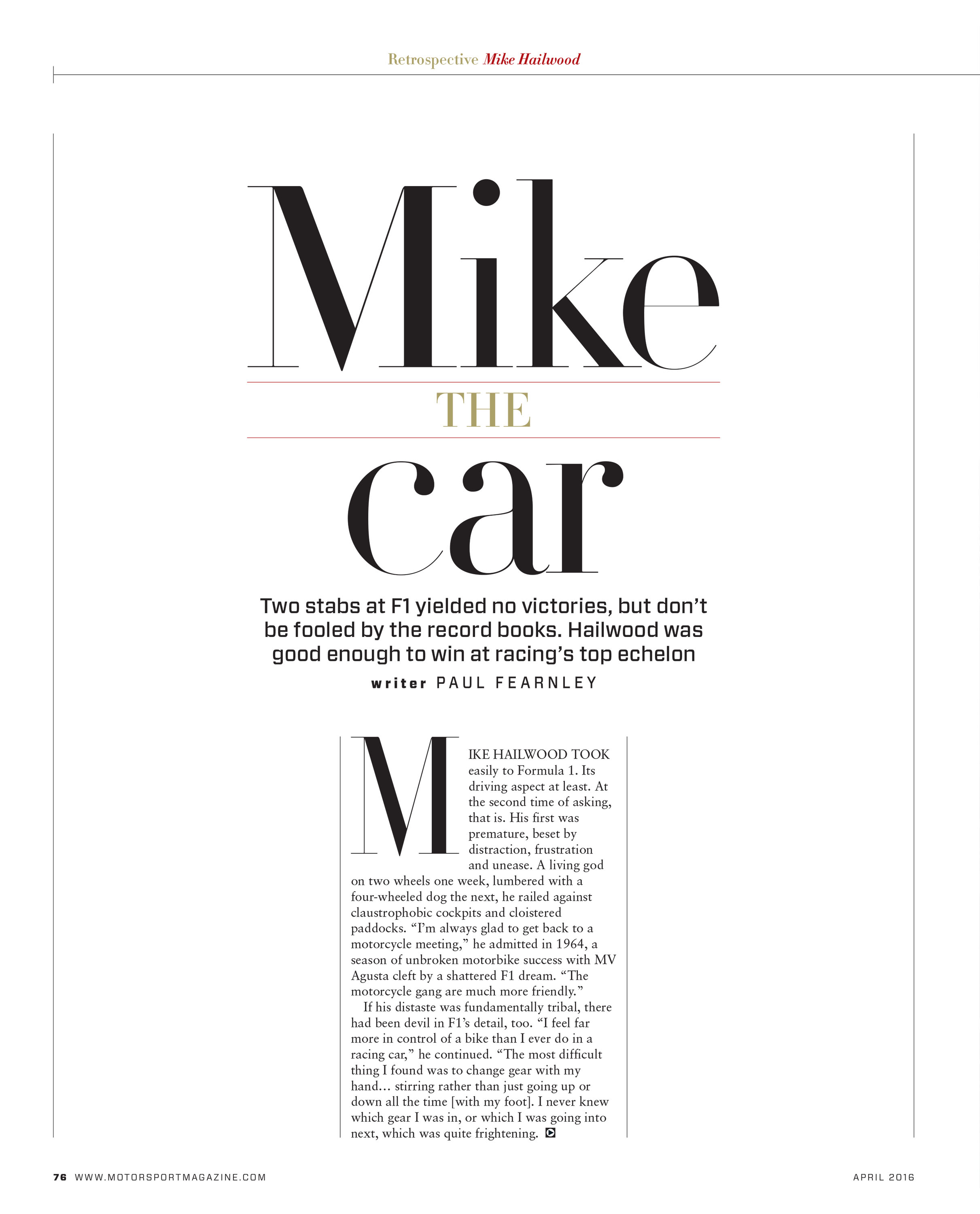 Mike the car image