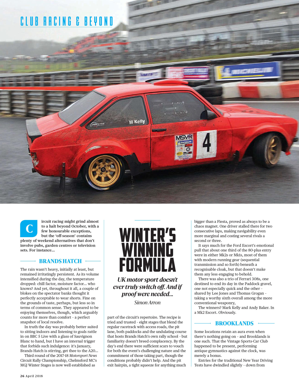 Winter's winning formula image