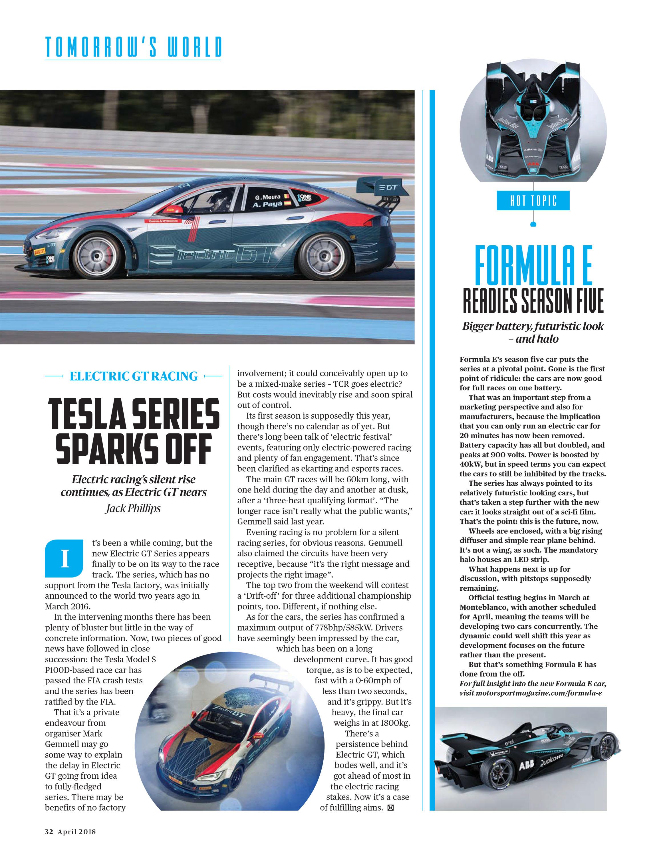 Formula E readies season five image