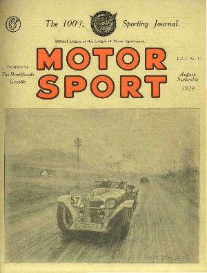 Cover image for August 1928