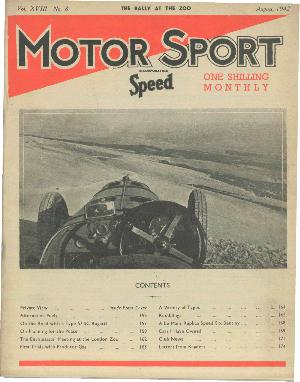 Cover of archive issue August 1942
