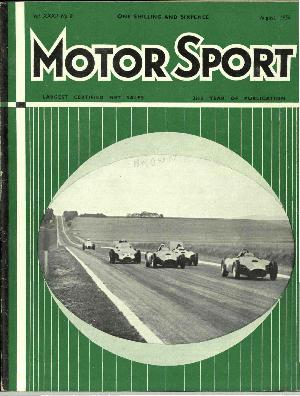 Cover of archive issue August 1956
