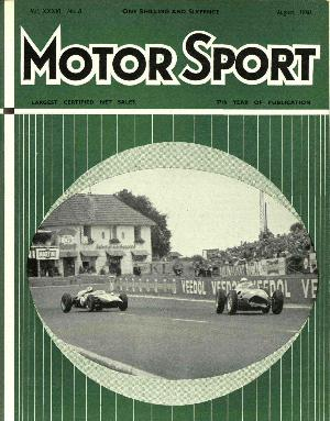 Cover of archive issue August 1960