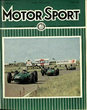 Cover of archive issue August 1963