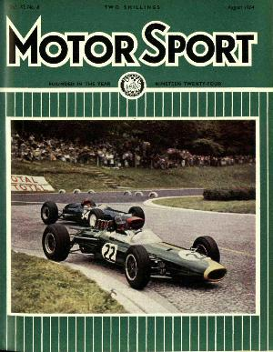Cover of archive issue August 1964