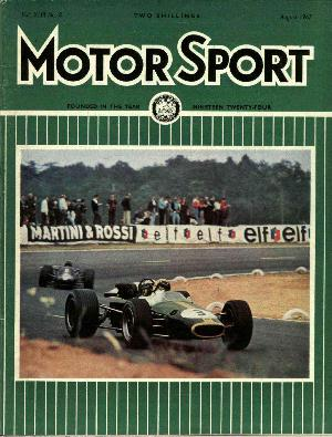 Cover of archive issue August 1967