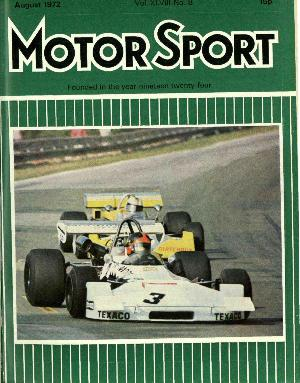 Cover of archive issue August 1972