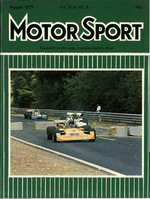 Cover of archive issue August 1973