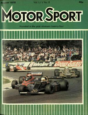 Cover image for August 1978