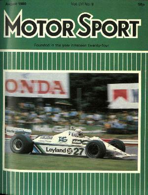 Cover image for August 1980