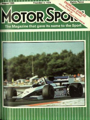 Cover image for August 1985