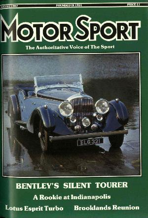 Cover of archive issue August 1987