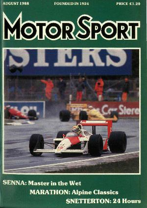 Cover image for August 1988