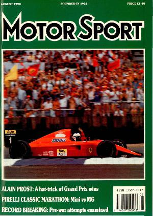 Cover image for August 1990