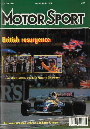 Cover image for August 1992