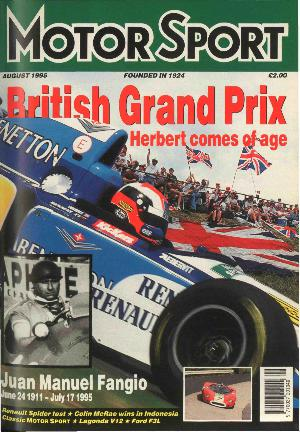Cover of archive issue August 1995