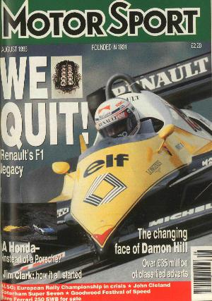 Cover image for August 1996