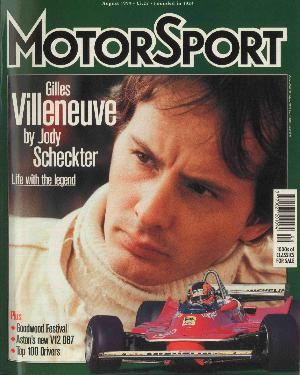 Cover image for August 1999