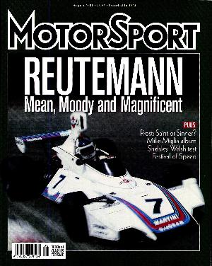 Cover image for August 2001