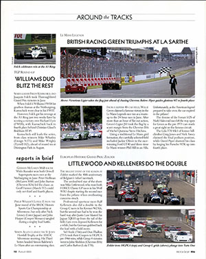 Page 10 of August 2003 archive issue thumbnail
