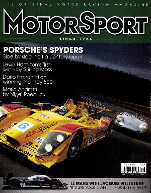 Cover image for August 2007