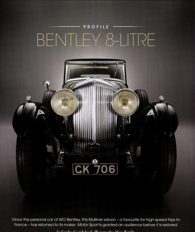 Bentley 8 Litre Motor Sport Magazine Archive