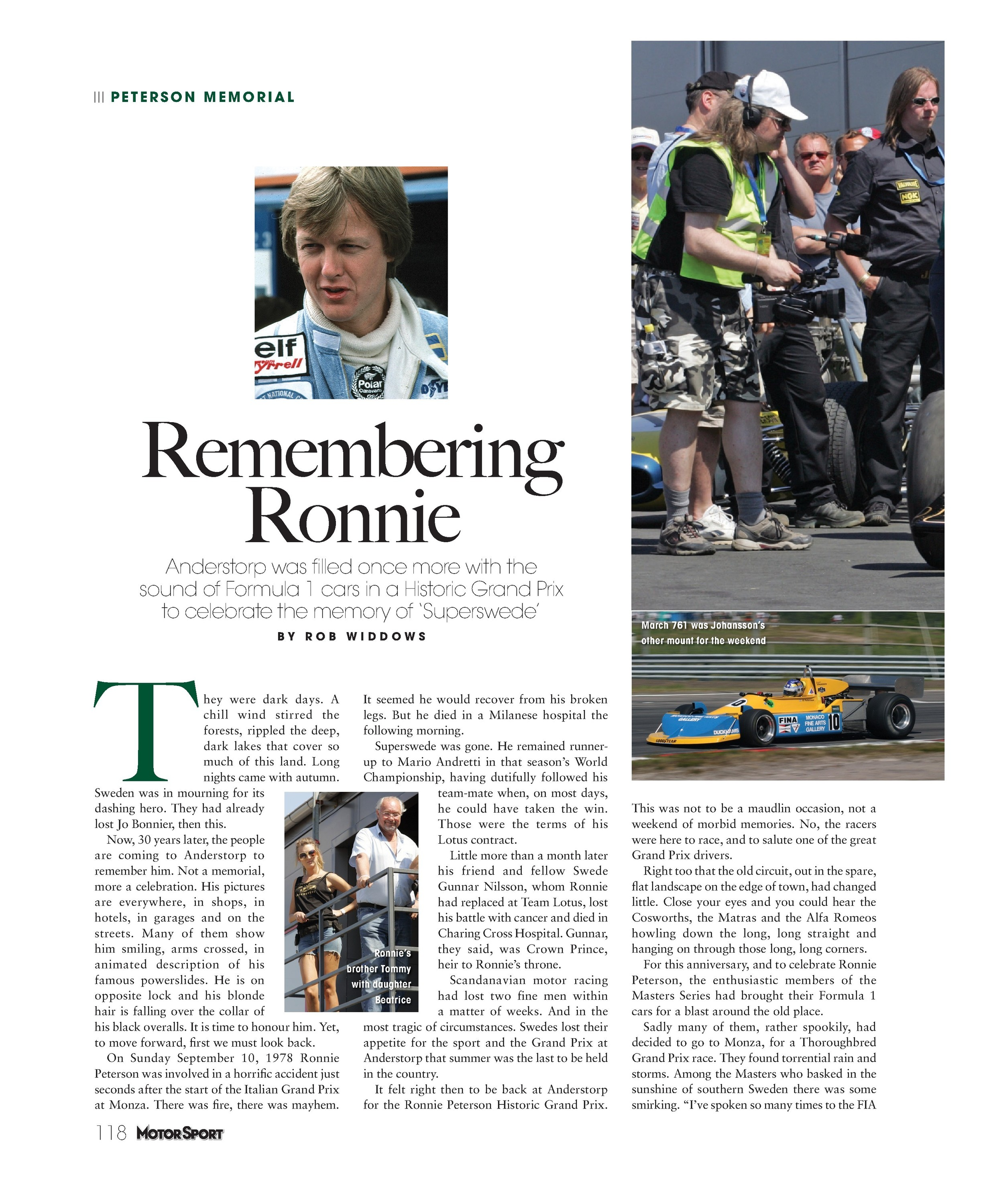 Remembering Ronnie image