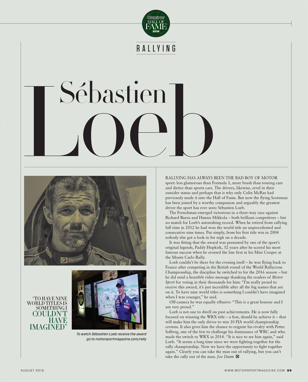 Rallying – Sébastien Loeb image